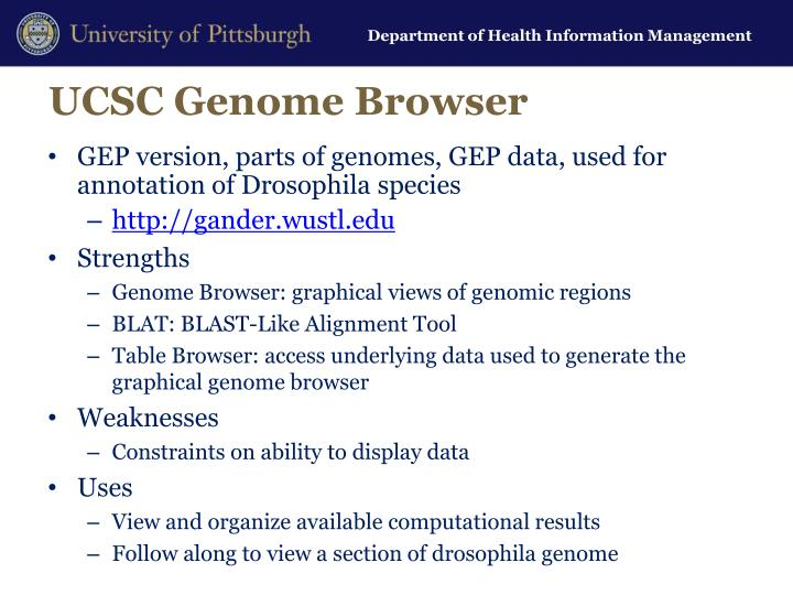 UCSC Genome Browser