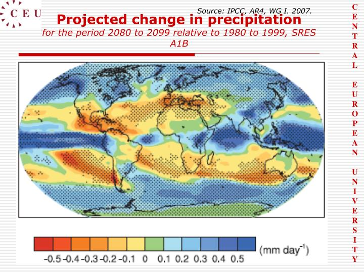 Source: IPCC, AR4, WG I. 2007.