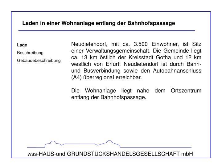 wss-HAUS-und GRUNDSTÜCKSHANDELSGESELLSCHAFT mbH