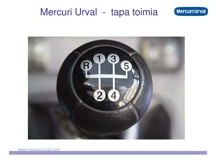 Mercuri Urval  -  tapa toimia