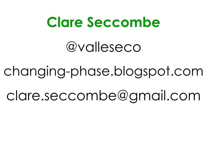 Clare Seccombe