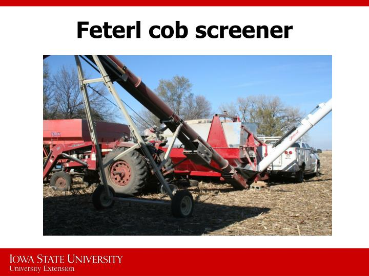 Feterl cob screener