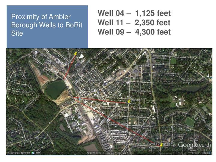 Well 04 –  1,125 feet