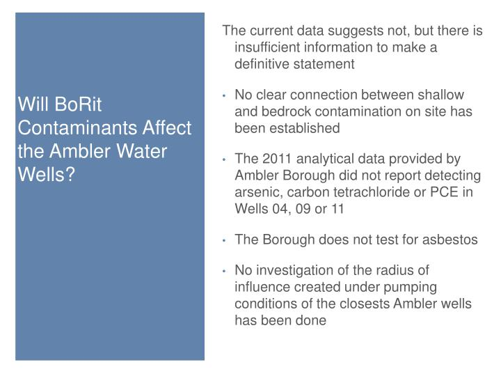 The current data suggests not, but there is insufficient information to make a definitive statement