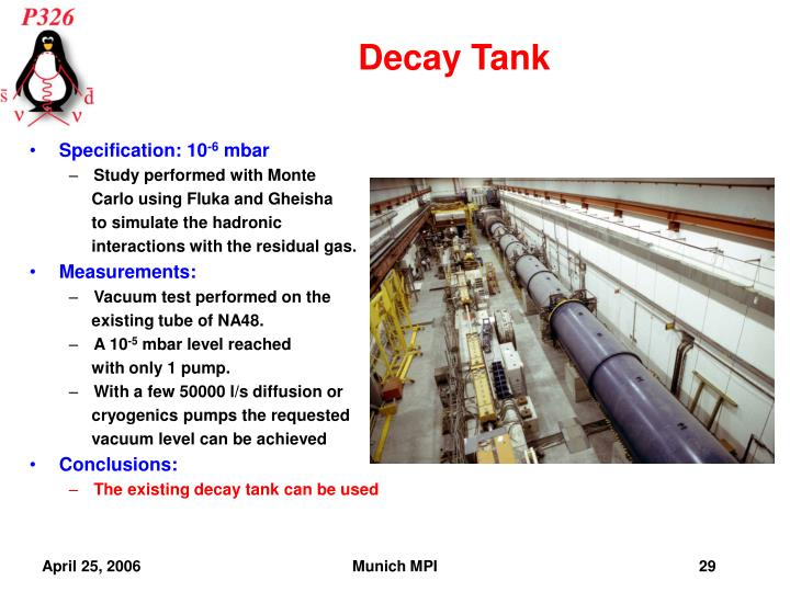 Decay Tank