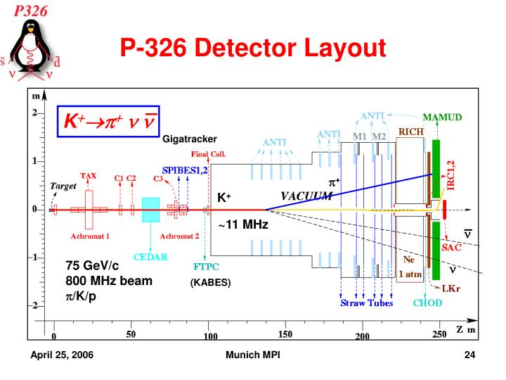 P-326 Detector Layout