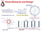 straw elements and design