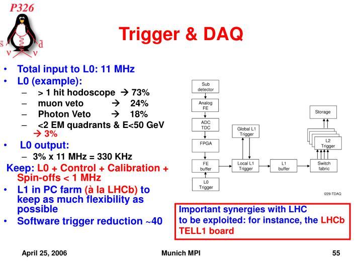 Trigger & DAQ