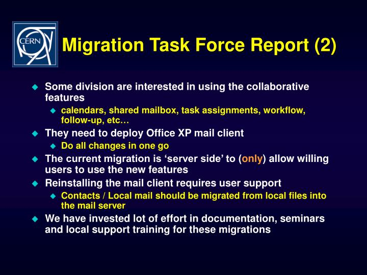 Migration Task Force Report (2)