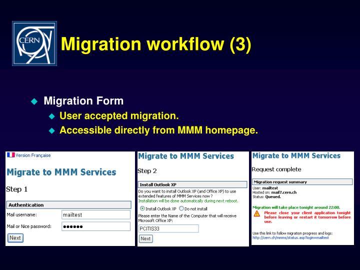 Migration workflow (3)