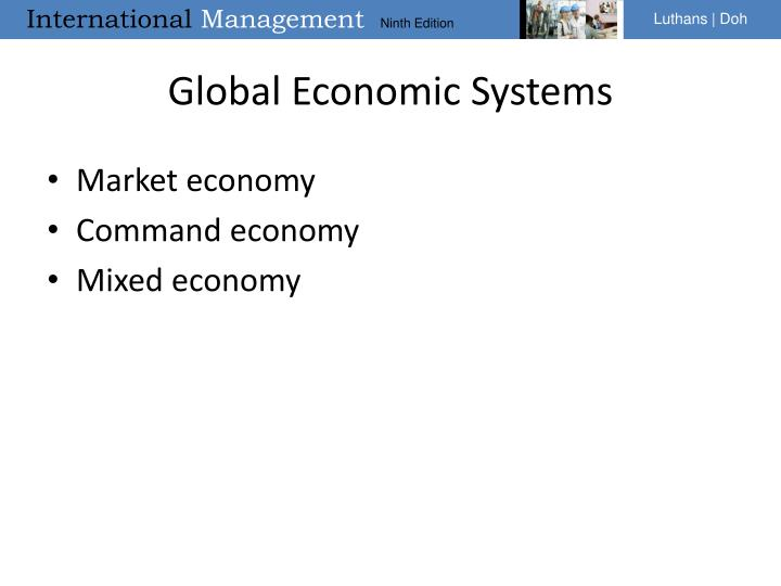 Global Economic Systems