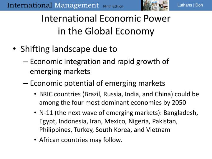 International Economic Power