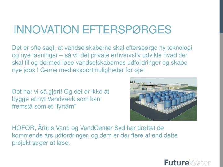 Innovation efterspørges