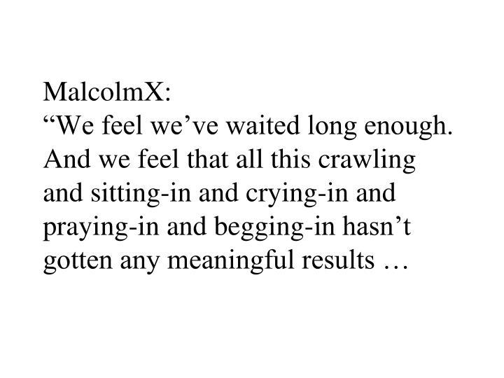MalcolmX