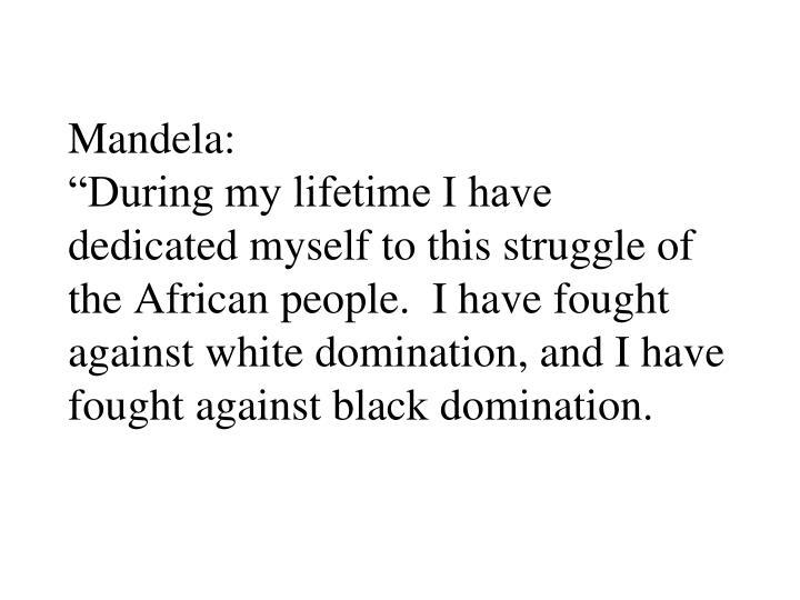 Mandela: