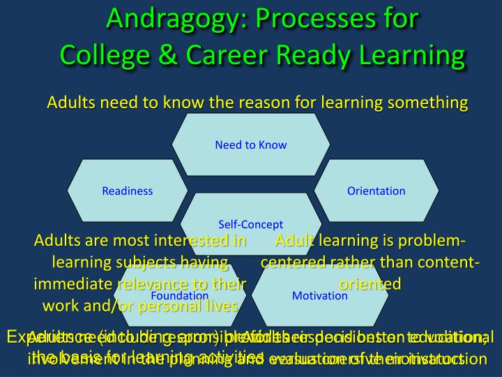 Andragogy: Processes for