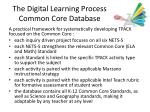 the digital learning process common core database1