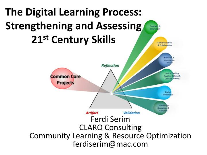 The digital learning process strengthening and assessing 21 st century skills