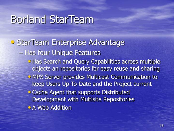 Borland StarTeam