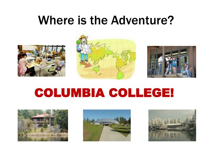 Where is the Adventure?