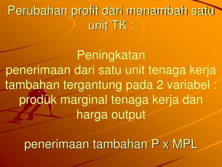 Dari MPL ke D TK