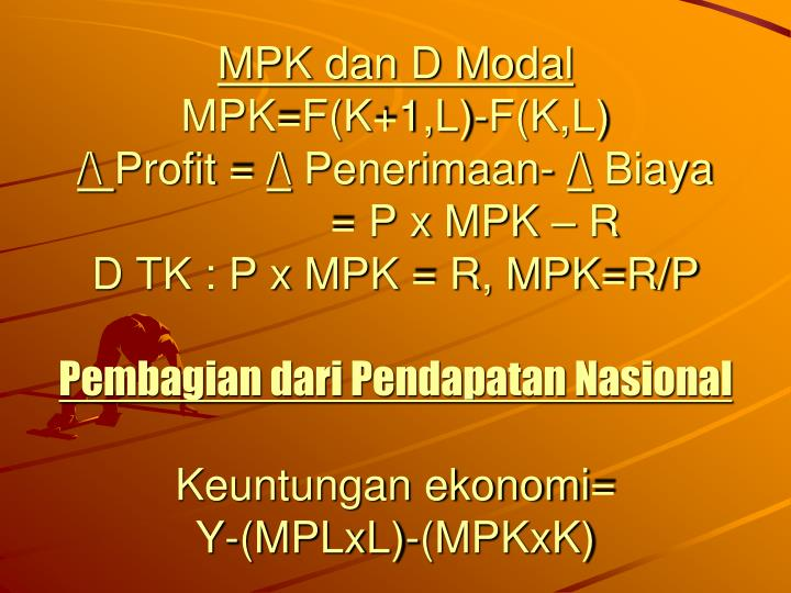 MPK dan D Modal