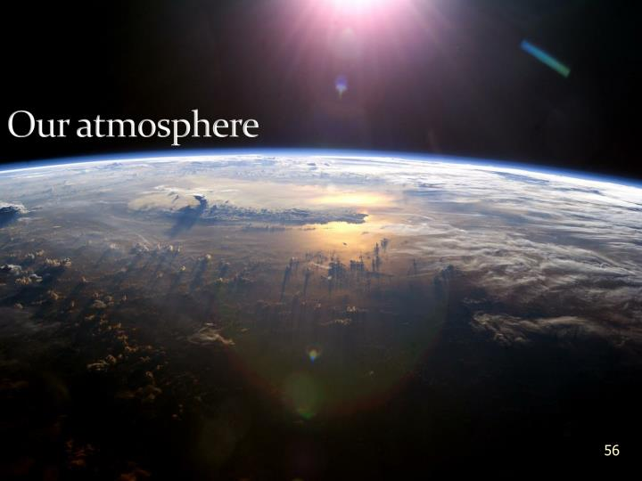 Our atmosphere