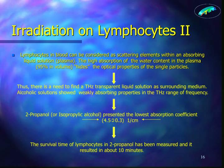 Irradiation on Lymphocytes II
