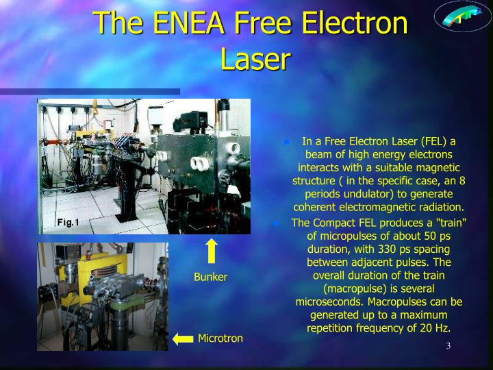 The ENEA Free Electron