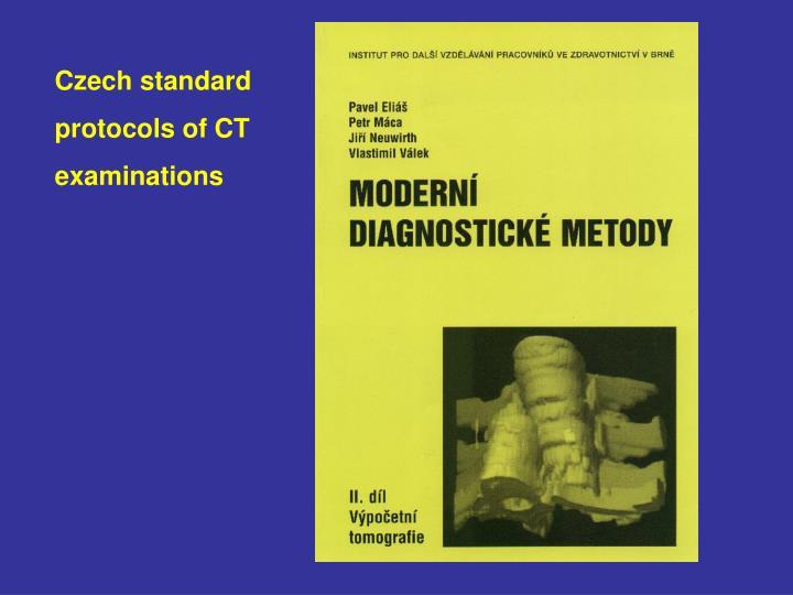Czech standard