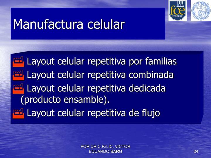 Manufactura celular