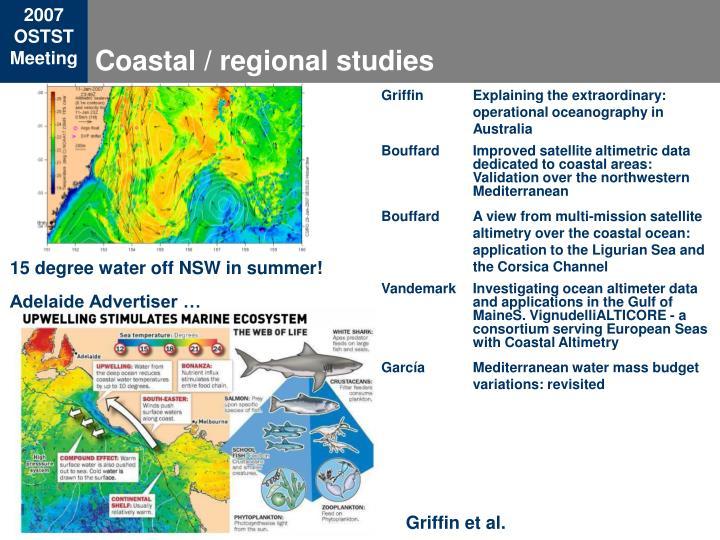 Coastal / regional studies