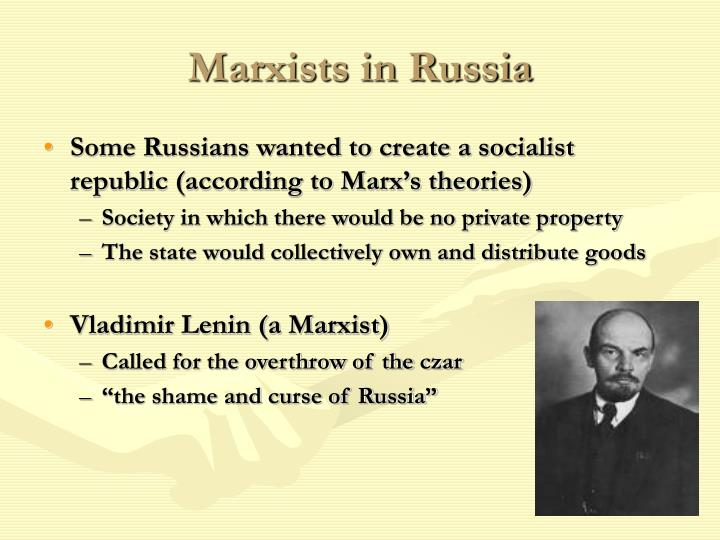 Marxists in Russia