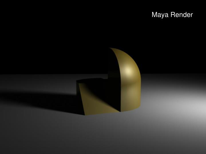 Maya Render