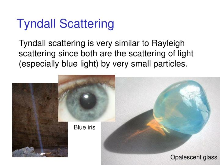 Tyndall Scattering