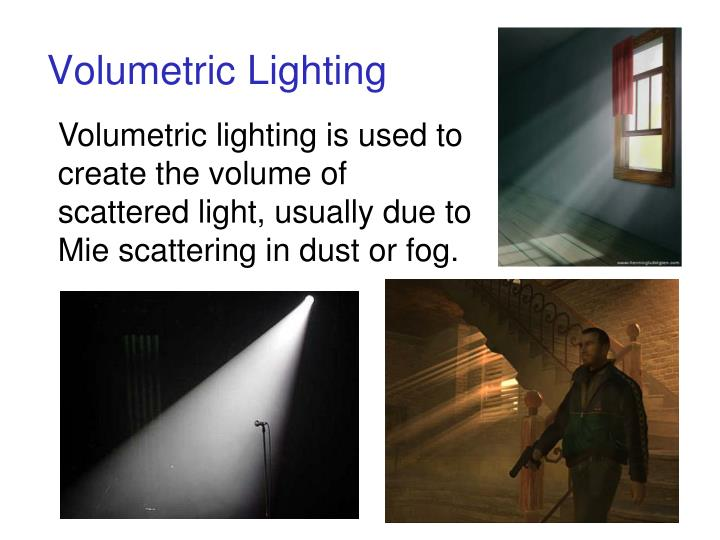 Volumetric Lighting