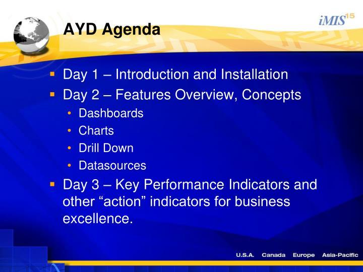 AYD Agenda