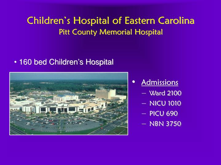 Children's Hospital of Eastern Carolina