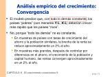 an lisis emp rico del crecimiento convergencia1
