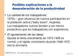 posibles explicaciones a la desaceleraci n de la productividad1