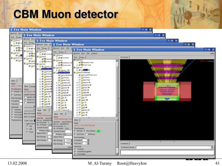 CBM Muon detector