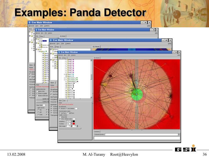 Examples: Panda Detector