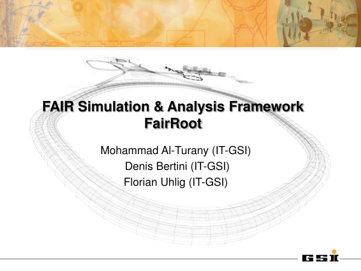 FAIR Simulation & Analysis Framework