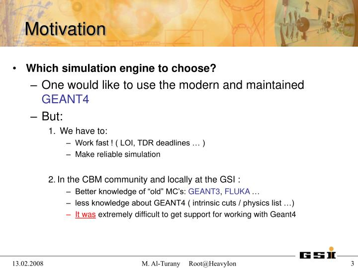 Which simulation engine to choose?