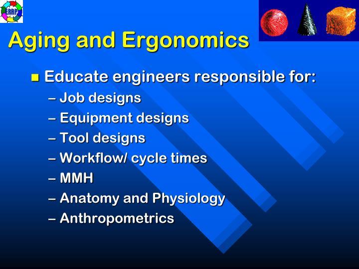 Aging and Ergonomics