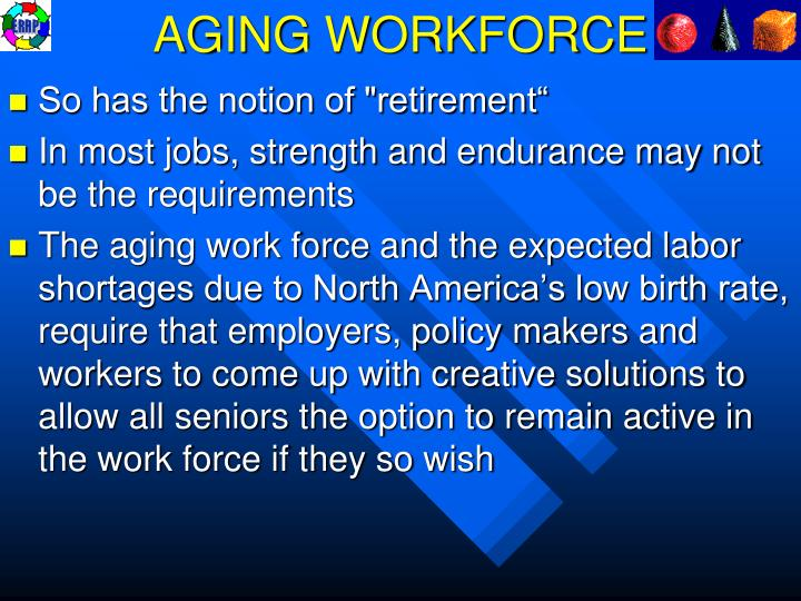 AGING WORKFORCE