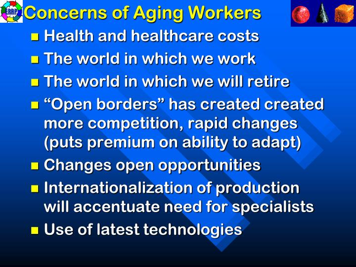 Concerns of Aging Workers