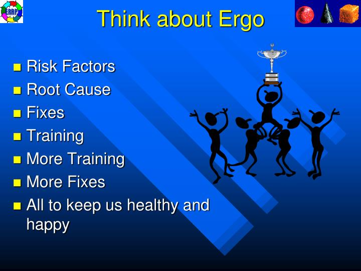 Think about Ergo