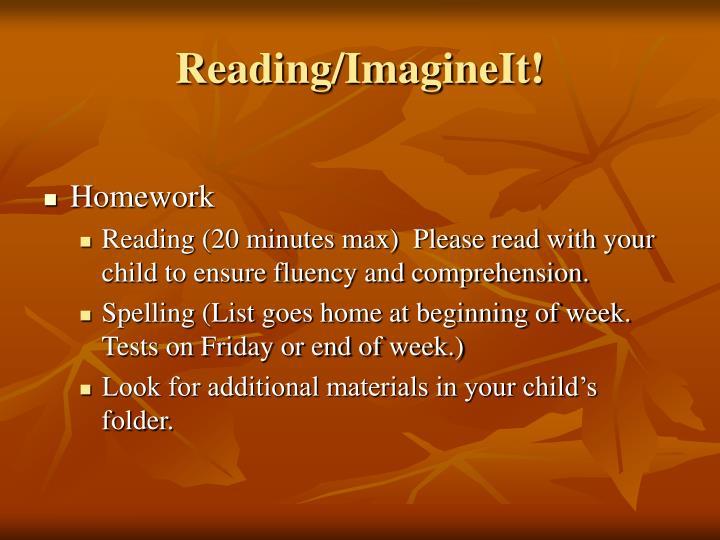 Reading/ImagineIt!