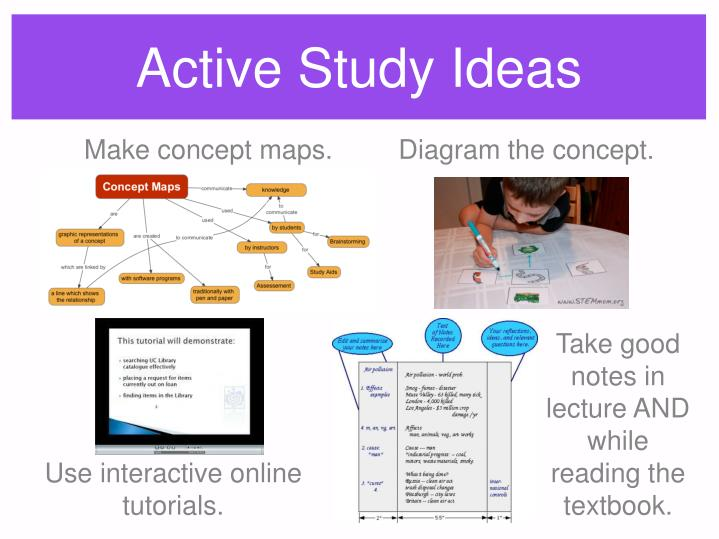 Active Study Ideas